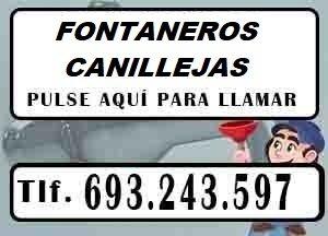 Fontaneros Canillejas Madrid Urgentes