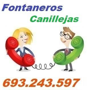 Telefono de la empresa fontaneros Canillejas